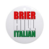 Brier Hill Italian Ornament (Round)