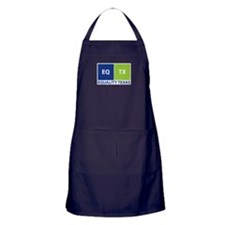Buttons, stickers & mugs Apron (dark)