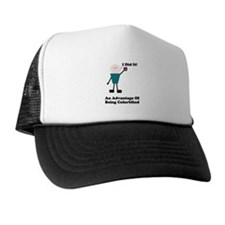 One Advantage of Being Color Trucker Hat