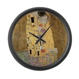 Cute Couple Large Wall Clock