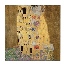 Cute Gustav klimt Tile Coaster