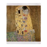 Cute Klimt Throw Blanket