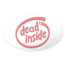 eR://dead inside sticker!