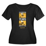 48HFP 10 Years Women's Plus Sz Scoop Neck T-Shirt