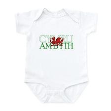 Cymru Am Byth Infant Bodysuit