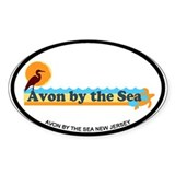 Avon NJ - Beach Design Decal
