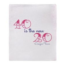 Twenty is the New Forty Throw Blanket