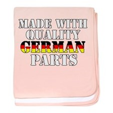 Quality German Parts baby blanket