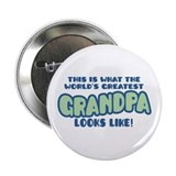 World's Greatest Grandpa Button