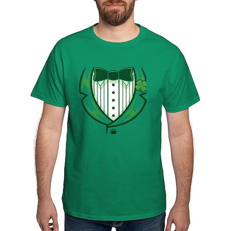 St Patricks Day Tux Dark T-Shirt