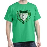 St Patricks Day Tux T-Shirt