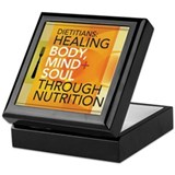 Healing Through Nutrition Keepsake Box