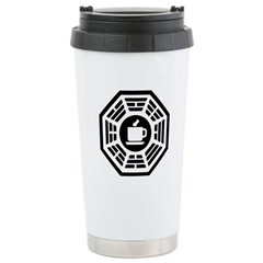 Dharma Coffee Ceramic Travel Mug