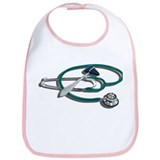 Medical Hammer Stethoscope Bib