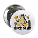 Support The Arts Cute Penguin 2.25