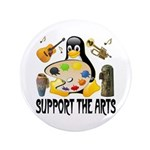 Support The Arts Cute Penguin 3.5