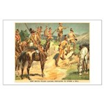 South Wales Lancers Large Poster