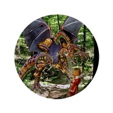 """The Jabberwocky 3.5"""" Button (100 pack)"""