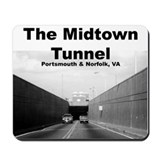 """The Midtown Tunnel"" Mousepad"