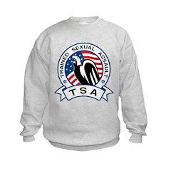 TSA Trained Sexual Assault Kids Sweatshirt