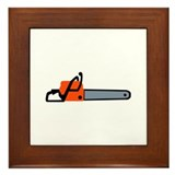 Chainsaw Framed Tile