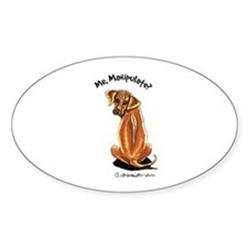 Rhodesian Ridgeback Manipulate Decal
