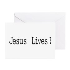 Jesus Lives! Greeting Cards (Pk of 10)