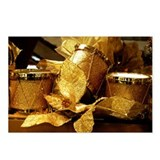 Golden Drums Postcards (Package of 8)