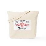 I'm Made of Atoms Tote Bag