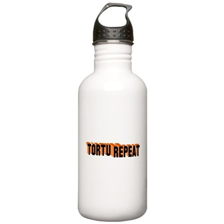 Torture Repeat Stainless Water Bottle 1.0L