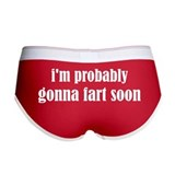 Fart Soon Women's Boy Brief