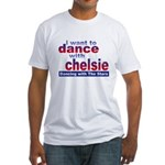 I want to Dance with Chelsie Fitted T-Shirt