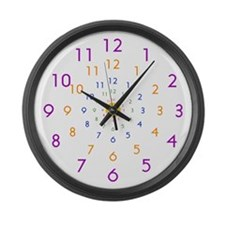 Infinity Clock Large Wall Clock 17inch