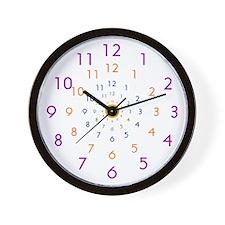 Infinity Clock Wall Clock 10inch