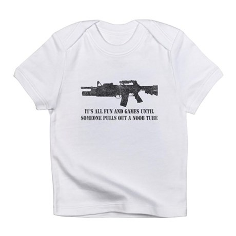 Fun and Games Noob Tube Infant T-Shirt