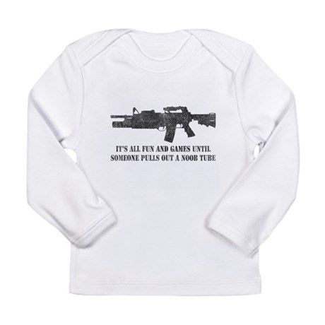 Fun and Games Noob Tube Long Sleeve Infant T-Shirt