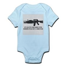 Fun and Games Noob Tube Infant Bodysuit