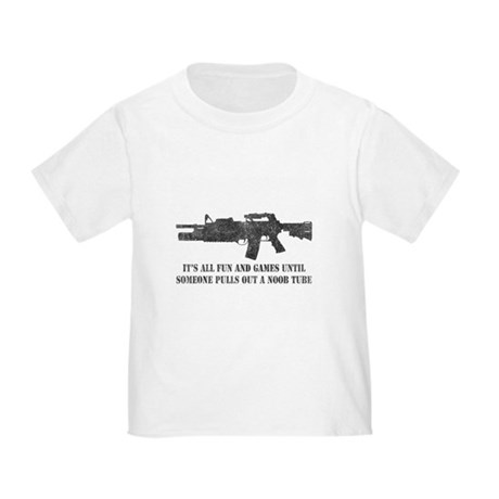 Fun and Games Noob Tube Toddler T-Shirt