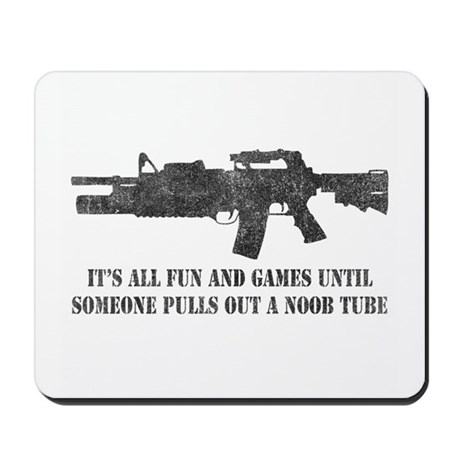 Fun and Games Noob Tube Mousepad