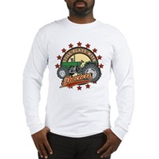 Still Plays with Tractors Green Long Sleeve T-Shir