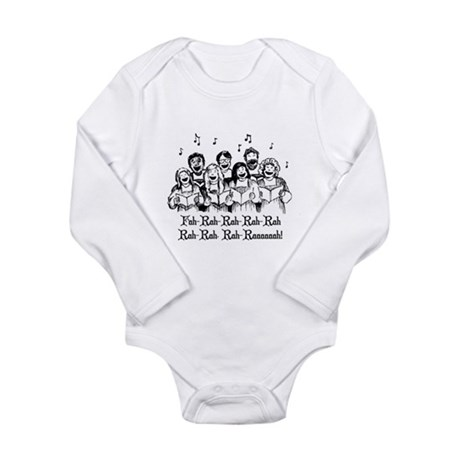 Fah-Rah-Rah-Rah Long Sleeve Infant Bodysuit