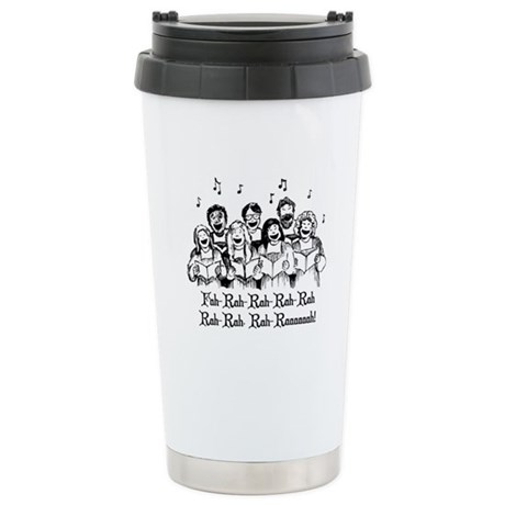 Fah-Rah-Rah-Rah Ceramic Travel Mug