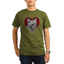 Bengal Cat Heart T-Shirt
