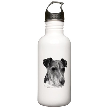 Smooth Fox Terrier Stainless Water Bottle 1.0L