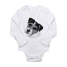 Jack (Parson) Russell Terrier Long Sleeve Infant B