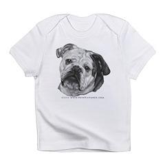 Nikki, English Bulldog Infant T-Shirt
