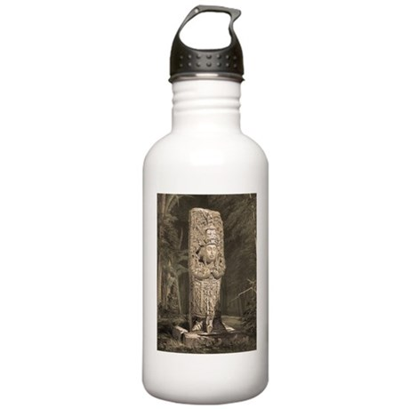 Copan Stele D Mayan Stainless Water Bottle 1.0L