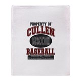 Cullen Baseball Light Throw Blanket
