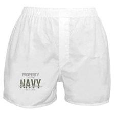 Property of the US Navy (Gree Boxer Shorts