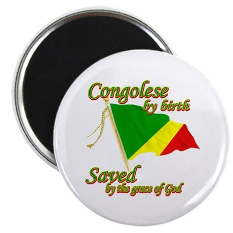 congolese by birth Magnet